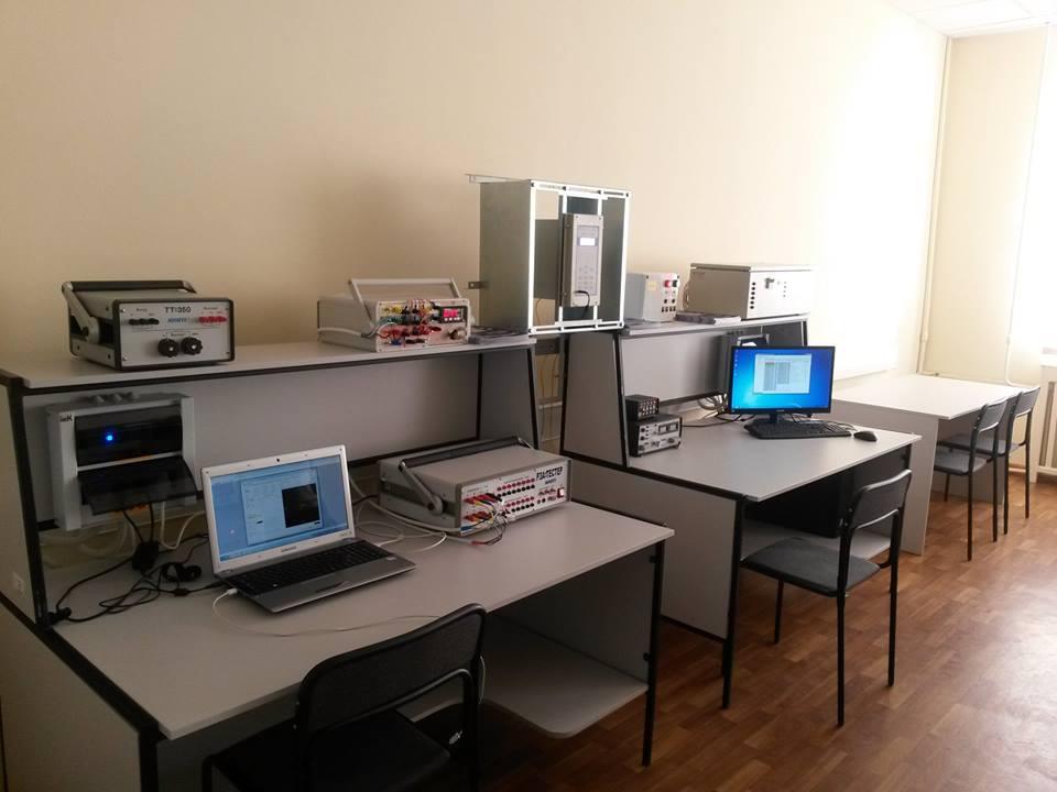 Лабораторія Цифрового релейного захисту і автоматики ХНУМГ